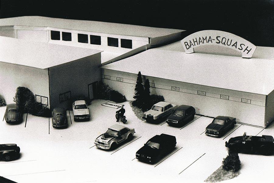 Model Bahama Squash Gebäude